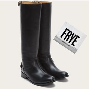Timeless Frye Black Leather Boots
